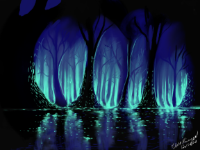 Lights in the Swamp